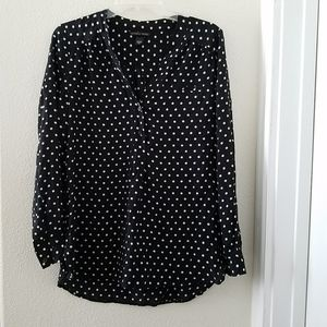 Victoria Secret Polka Dot Top Blouse